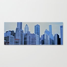 Chicago in Winter Canvas Print