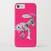butt iPhone & iPod Cases featuring Butt Jab by victor calahan