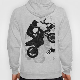 High Flying Stuntmen - Motocross Riders Hoody