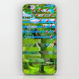 Landscape of My Heart (segment 2) iPhone Skin