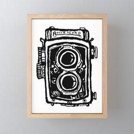 Rolleicord TLR camera Framed Mini Art Print