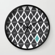 diamond back Wall Clock