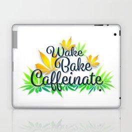Wake Bake Caffeinate Laptop & iPad Skin