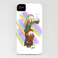 Party Legolas and Gimli  Slim Case iPhone (4, 4s)