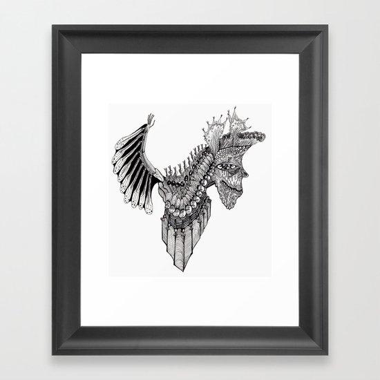 Penti-Bat Framed Art Print