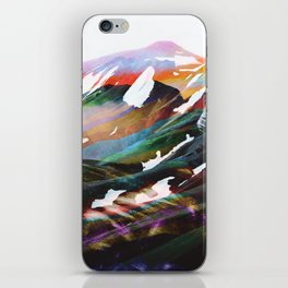 Abstract Mountains II iPhone Skin