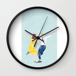 La La Land Movie Poster Wall Clock