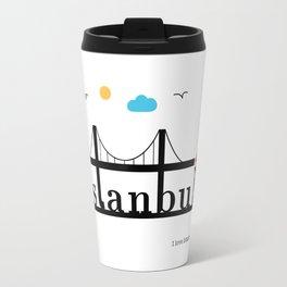 Istanbul. Travel Mug