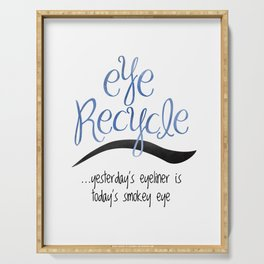 Eye Recycle Serving Tray