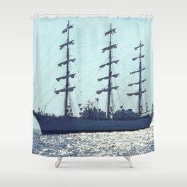 ARA Libertad ship Shower Curtain