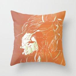 Frambuesas Throw Pillow