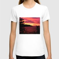 big sur T-shirts featuring Sunset * Big Sur, California by John Lyman Photos