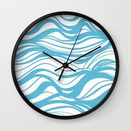 the sound of waves Wall Clock