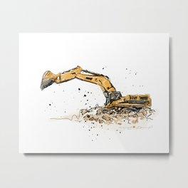 Shovel Metal Print