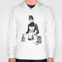 cooking Hoodies featuring Cooking by MICKEY FICKEY GALLERY