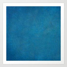 blue_logo Art Print