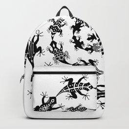 Spiraling Lizards Backpack