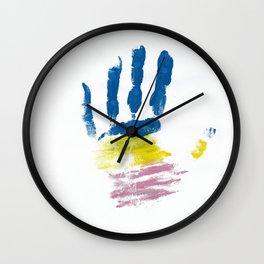 Pansexual Hand Wall Clock