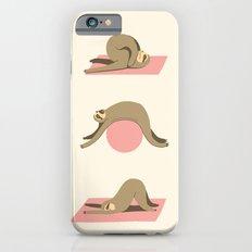 Sloth pilates iPhone 6s Slim Case