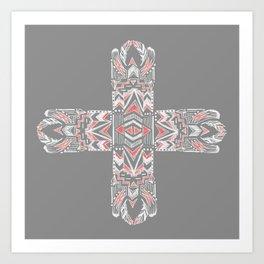 Pocatiki Tribe Art Print