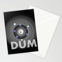 Dum! la onomatopeya del sonido del bajo en el altavoz para bailar Stationery Cards