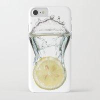 lemon iPhone & iPod Cases featuring Lemon by Massimo Merlini