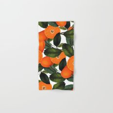 The Forbidden Orange #society6 #decor #buyart Hand & Bath Towel