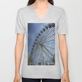 Ferris wheel Unisex V-Neck