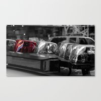 police Canvas Prints featuring Police by Michael Andersen