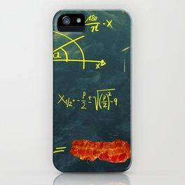 Mathematical Equation iPhone Case