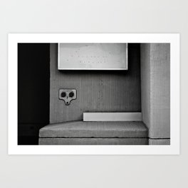 Dark Surprise Art Print