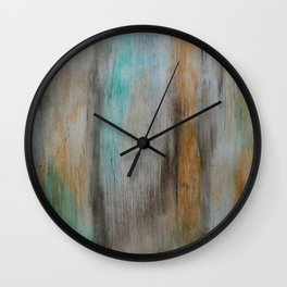 Vintage, Reclaimed Wood With Weathered Paint Wall Clock