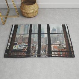 New York City Window Rug