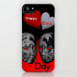 Happy Valentine's Day! -3- iPhone Case