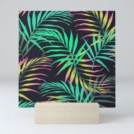 Summer Bliss Leaves  Mini Art Print