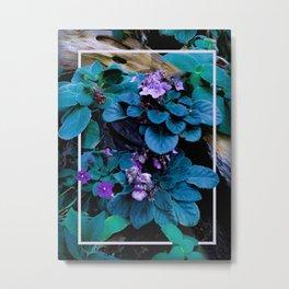 Drift Flower Metal Print