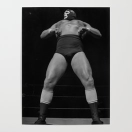 Mighty luchador Poster