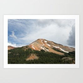 Red Mountain Pass Art Print