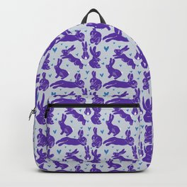 Bunny love - Purple Carrot edition Backpack