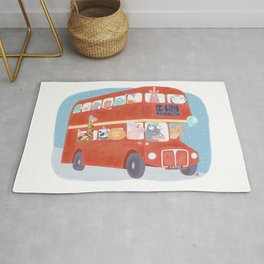 Party Bus Rug