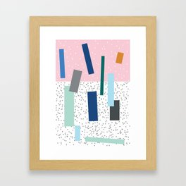 Friday Framed Art Print