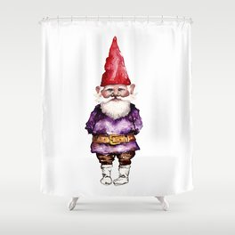 Alfred the Gnome Shower Curtain