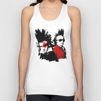 mozart Tank Tops featuring Beethoven Mozart Punk Composers by viva la revolucion