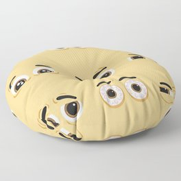 Pack of nice character eyes Floor Pillow