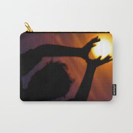 SuperMoon silhouette Carry-All Pouch