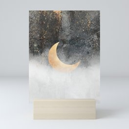 Crescent Moon Mini Art Print