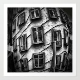 Geometrie praghesi [dancing house | Prague] Art Print