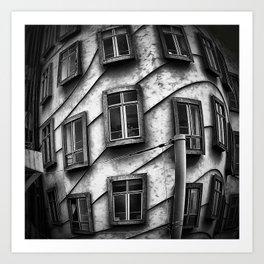 Geometrie praghesi [dancing house | Prague] Art Print