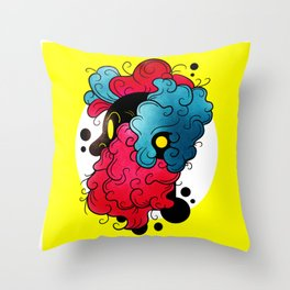 Trippie Beard Throw Pillow
