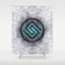 Digital Era Shower Curtain